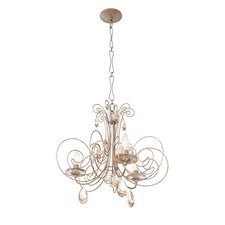 Elysse 3 Light Crystal Chandelier