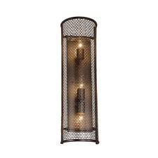 Lit-Mesh Test 3 Light Wall Sconce