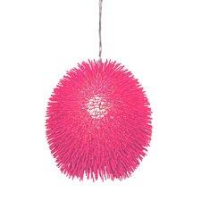 Urchin 1 Light Drum Foyer Pendant