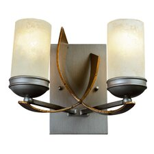 Aizen Recycled 2 Light Bath Vanity Light
