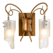 Soho Recycled 2 Light Bath Vanity Light