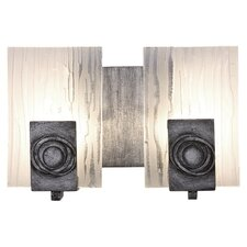 <strong>Varaluz</strong> Polar Recycled 2 Light Bath Vanity Light