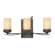 Aizen Recycled 3 Light Bath Vanity Light
