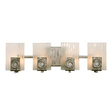<strong>Varaluz</strong> Polar Recycled 4 Light Bath Vanity Light