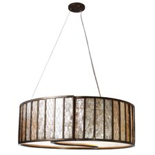 Affinity 5 Light Drum Foyer Pendant