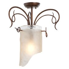 <strong>Varaluz</strong> Recycled Soho Semi Flush Mount Ceiling Light