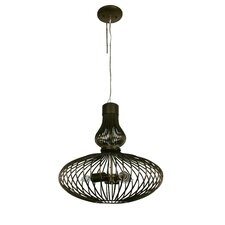 Clout 3 Light Hookah Drum Foyer Pendant