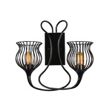 Encaged 2 Light Wall Sconce