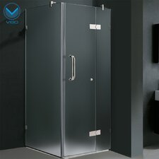Pivot Door Frameless Shower Enclosure