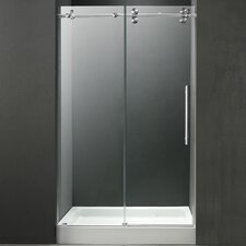 "47.75"" W x 74"" H x 36"" D Sliding Shower Door"