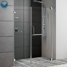 "66"" W x 72"" H Pivot Shower Door"