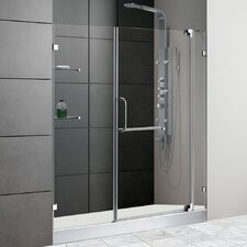 "59.75"" W x 72"" H x 36"" D Pivot Shower Door"