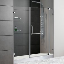 "59.75"" W x 72"" H x 30"" D Pivot Shower Door"