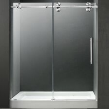 "59.75"" W x 74"" H x 36"" D Sliding Shower Door"