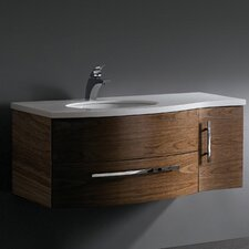 "<strong>Vigo</strong> Distinct 44"" Wall Mounted Bathroom Vanity Set"