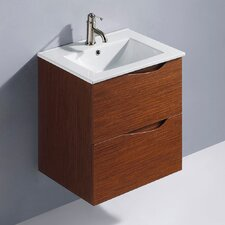 "<strong>Vigo</strong> Suzetta 24.25"" Single Bathroom Vanity Set"