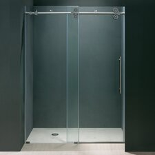 <strong>Vigo</strong> Frameless Sliding Clear Shower Door