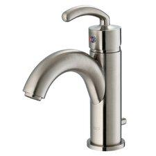 Single Hole Bathroom Faucet with Single Scroll Handle