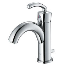 <strong>Vigo</strong> Single Hole Bathroom Faucet with Single Scroll Handle