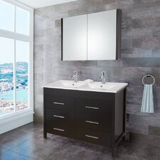 "Maxine 47.63"" Single Bathroom Vanity Set"