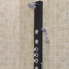 <strong>Vigo</strong> Shower Massage Panel with Rain Shower Head and Multi-Function Hand Held Shower