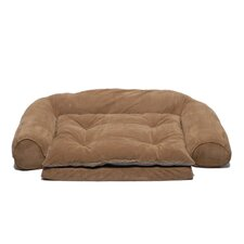 Ortho Sleeper Comfort Couch® Dog Bed in Chocolate