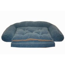 <strong>Everest Pet</strong> Ortho Sleeper Comfort Couch Bolster Dog Bed