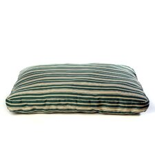 Indoor/Outdoor Striped Dog Pillow