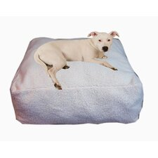 Cloud Sherpa Pouf Bolster Dog Bed