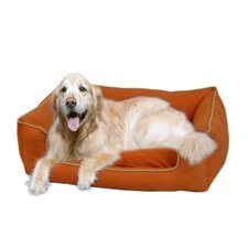 Low Profile Kuddle Lounge Bolster Dog Bed