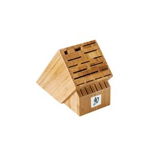22-Slot Bamboo Knife Block