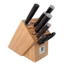 Classic 7 Piece Essential Cutlery Block Set