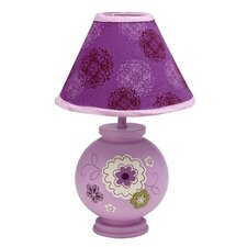 Pretty in Purple Table Lamp with Empire Shade