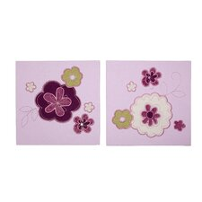 Pretty in Purple 2 Piece Canvas Art Set
