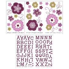 Pretty in Purple Wall Decals