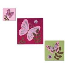 Emily Canvas Wall Art (Set of 3)