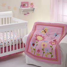 Little Miss Lady Bug Crib Bedding Collection
