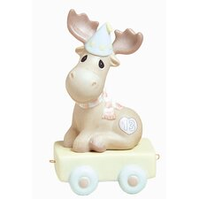 """Birthday Train You Mean The Moose To Me"" Figurine"