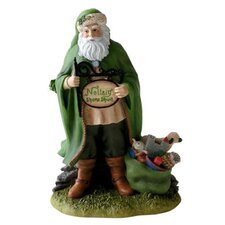 """Irish Christmas Santa"" Irish Santa Mini Figurine"