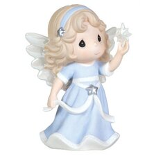 """Hope Shall Light The World"" Annual Angel Holding Star Figurine"