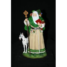 """Father Christmas of Ireland"" Limited Edition Father Christmas of Ireland Figurine"