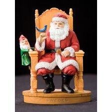 """Sweden"" Sweden Santa Figurine"