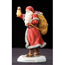"<strong>Precious Moments</strong> ""Norway"" Norway Santa Figurine"