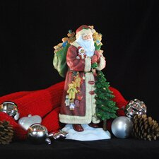 """Santa and Friends"" Limited Edition Santa with Teddy Bears Figurine"
