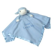 <strong>Precious Moments</strong> Lamb Plush Blanket