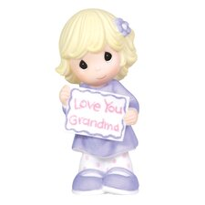 Love You Grandma Girl Figurine