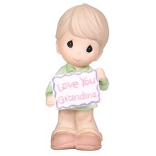 Love You Grandma Boy Figurine