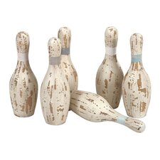 Davis Bowling Pins (Set of 6)