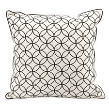 Essentials Embroidered Cotton Pillow