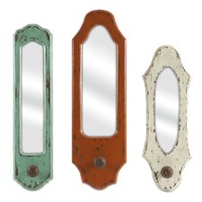 Gaylynn 3 Piece Wall Mirror Set